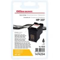 Office Depot Compatible HP 337 Ink Cartridge C9364EE Black