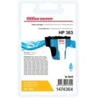 Office Depot Compatible HP 363 Ink Cartridge C8771EE Cyan