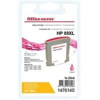 Office Depot Compatible HP 88XL Ink Cartridge C9392A Magenta