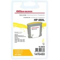 Office Depot Compatible HP 88XL Ink Cartridge C9393A Yellow