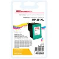 Office Depot Compatible HP 351XL Ink Cartridge CB338EE 3 Colours
