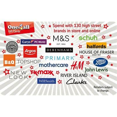 One4all Gift Card Spend Here £15