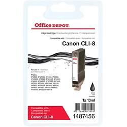 Office Depot Compatible Canon CLI-8BK Ink Cartridge Black