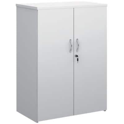 Dams International Regular Door Cupboard R1090DWH White 800 x 470 x 1,090 mm