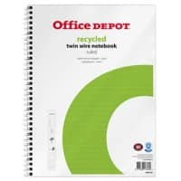 Office Depot Notebook A4+ Ruled Perforated 80 Sheets