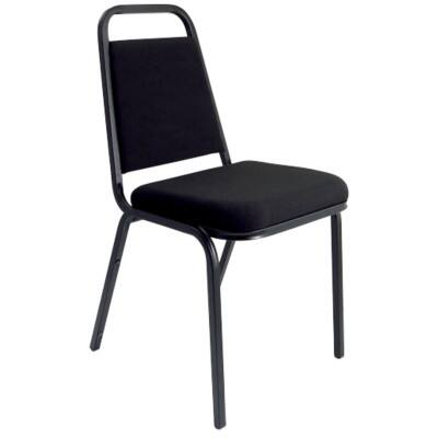 dynamic Visitor Chair BANQBLK Black 4 Pieces