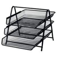 Office Depot Filing Shelves Black Wire, Mesh 27 x 35.5 x 26.5 cm