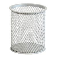 Office Depot Pencil Cup Wire Mesh Silver 9 x 9 x 10 cm