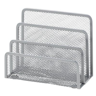 Office Depot Mini Sorter Wire, Mesh Silver 135 x 175 x 80 mm