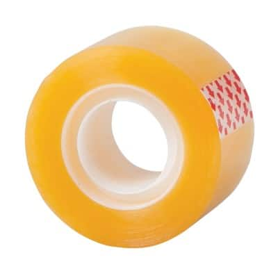 Office Depot Tape 24 mm x 33 m Transparent 6 Rolls