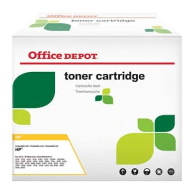 Office Depot Compatible HP 38A Toner Cartridge Q1338A Black