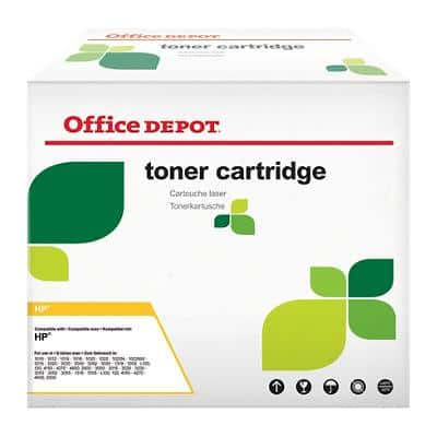 Compatible Office Depot HP 38A Toner Cartridge Q1338A Black