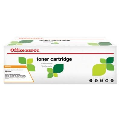 Compatible Office Depot Brother TN-2000 Toner Cartridge Black