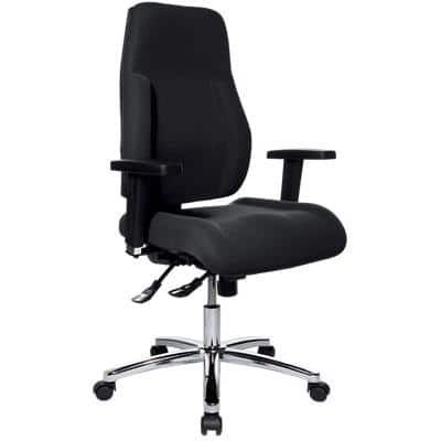 WorkPro Synchro Tilt Ergonomic Office Chair with 3D Armrest and Adjustable Seat Signum Black