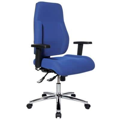 WorkPro Ergonomic Office Chair Signum Synchro Tilt Blue
