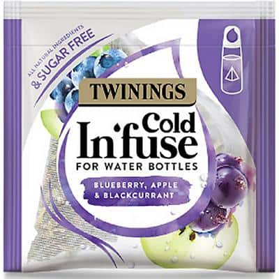 Twinings Blueberry, Apple & Blackcurrant Cold Infusion Tea 100 Pieces