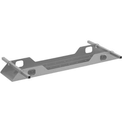 Dams International Double Cable Tray Connex Steel 1200 x 300 x 100 mm Silver