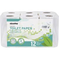 Highmark Toilet Rolls Standard 4 Ply 12 Pieces of 160 Sheets