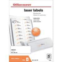 Office Depot Laser Labels White 1400 labels per pack