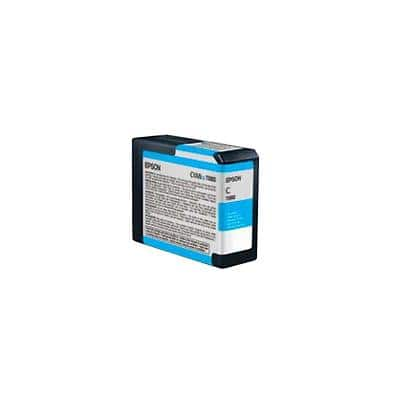 Epson T5802 Original Photo Cyan Ink Cartridge C13T580200