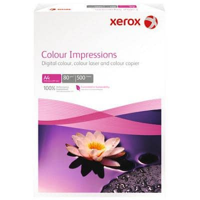 Xerox Colour Impressions Printer Paper A4 90gsm White 500 Sheets
