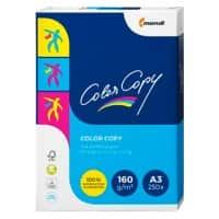 Color Copy Printer Paper A3 160gsm White 250 Sheets