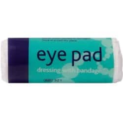 Eye Pad Dressing No.16 With Bandage Sterile Flow Wrapped Box 10