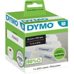 DYMO Labels 99017 12 x 50 mm White
