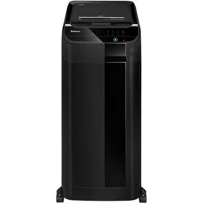 Fellowes AutoMax 550C Cross-Cut Shredder Security Level P-4 550 Automatic & 14 Manual Sheets