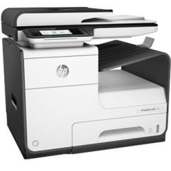HP pagewide pro 477dw colour inkjet multifunction printer