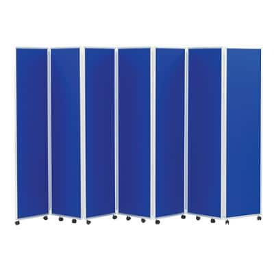 Concertina Screen 609070 Blue 560 x 1,800 mm