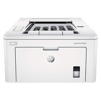 HP LaserJet Pro M203dn A4 Mono Printer with Apple AirPrint White