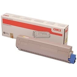OKI 45862837 Original Toner Cartridge Yellow