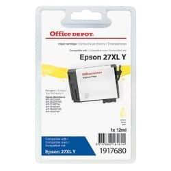 Office Depot Compatible Epson 27XL Ink Cartridge T271440 Yellow
