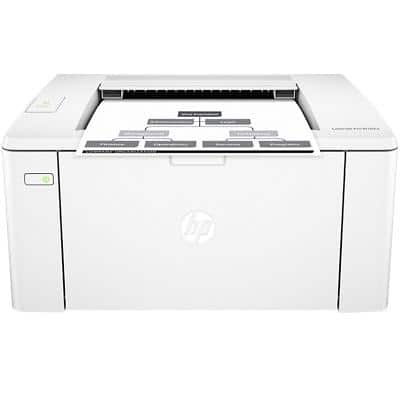 HP LaserJet Pro M102a A4 Mono Printer