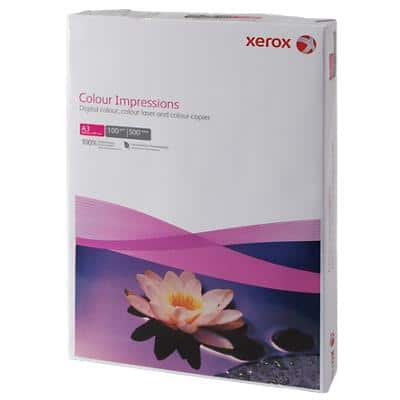 Xerox Colour Impressions Copy Paper A3 100gsm White 500 Sheets