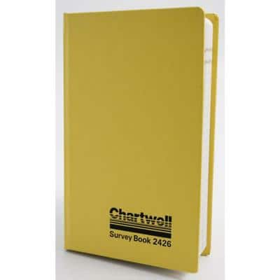 Chartwell 2426 Survey Level Book 12 x 19.2 cm 160 Pages