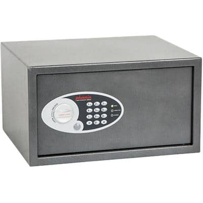Phoenix Hotel Security Safe with Electronic Lock Dione SS0302E 250 x 450 x 365mm Grey
