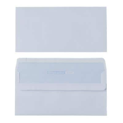 Office Depot DL Envelopes 220 x 110mm Self Seal Plain 80gsm White Pack of 1000