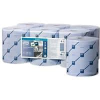 Tork Wiping Paper Roll Reflex Blue 2 Ply 6 Rolls of 429 Sheets