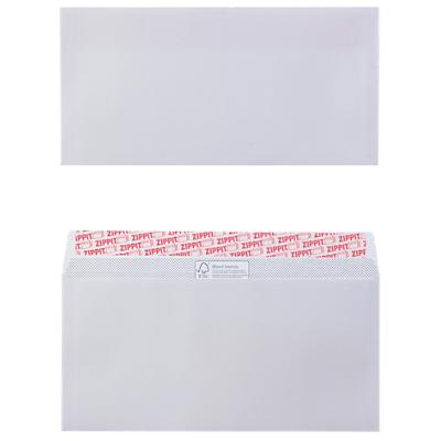 Office Depot Envelopes DL 110 x 220 mm 100 g/m² White Plain Peel and Seal Pack of 500