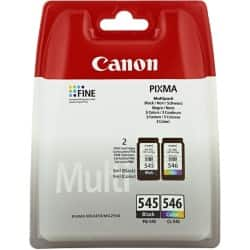Canon PG-545/CL-546 Original Ink Cartridge Black & 3 Colours 2 pieces