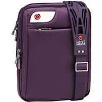 i-stay 10.1 inch netbook, iPad, tablet messenger case with non-slip bag strap Purple