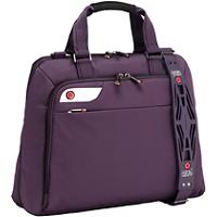 i-Stay 15.6 Inch Ladies Laptop Bag With i-Stay With Non-Slip Bag Strap Purple