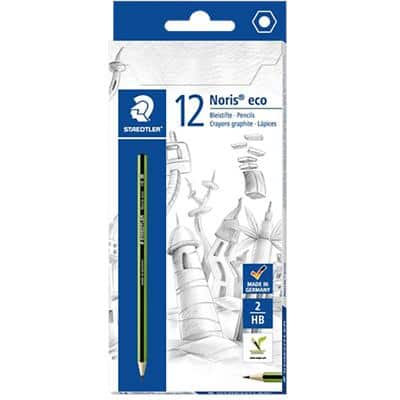 STAEDTLER Pencil Noris Eco HB 12 Pieces