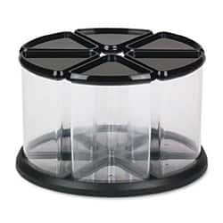 Deflecto Desk Organiser Tidy Tub plastic Transparent 16.9 x 28.3 x 28.3 cm