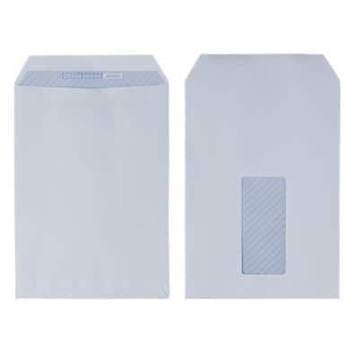 Office Depot C5 Envelopes 162 x 229mm Self Seal Window 110gsm White Pack of 500