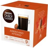 NESCAFÉ Dolce Gusto Americano Intenso Coffee Pods Pack of 16