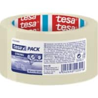 tesapack Tape Clear Strong 5 cm x 66 m Transparent