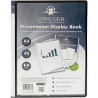 Pukka Pad Concord Display Book A4 Black Polypropylene